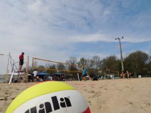 Manche préparatoire du Belgian Beach Volley Tour à Gembloux