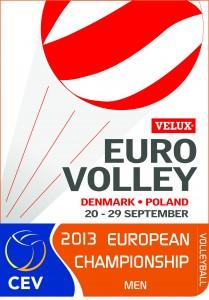 Euro Volley 2013 Hommes au Danemark et en Pologne