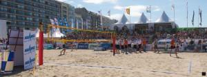 Site des finales du Beach Volley Tour 2013