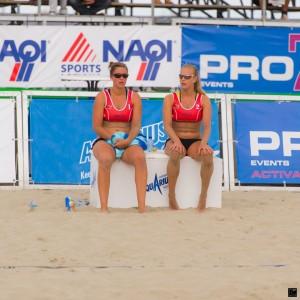 Katrien Gielen et Sarah Dovogja