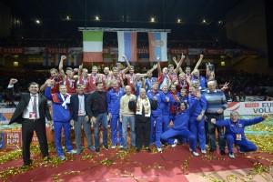 Avec ce titre de Champions d'Europe 2013, les Russes ajoutent une médaille d'or à leur palmarès !