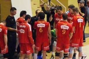 Vincenzo Di Pinto, coach de Noliko Maaseik, ne s'est pas opposé à une prise de son durant la rencontre