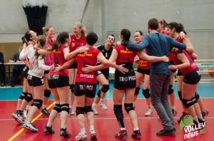 Le BW Nivelles fête sa victoire face à Theux