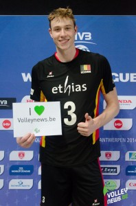 Sam Deroo soutient Volleynews