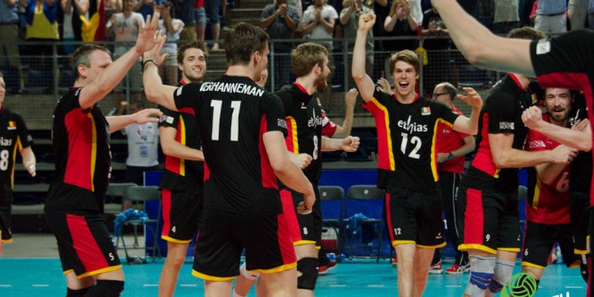 [World League] Résumé Belgique-Canada [Lotto Arena]