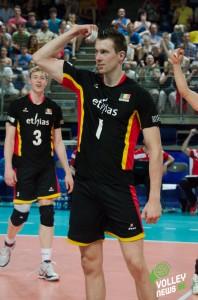 Van den Dries, visiblement très content de sa performance! !