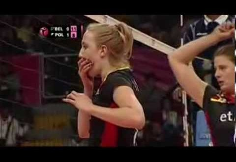 [Video] Lise Van Hecke (BEL) headshots Katarzyna Zaroslinska (POL) [World Grand Prix 2014]