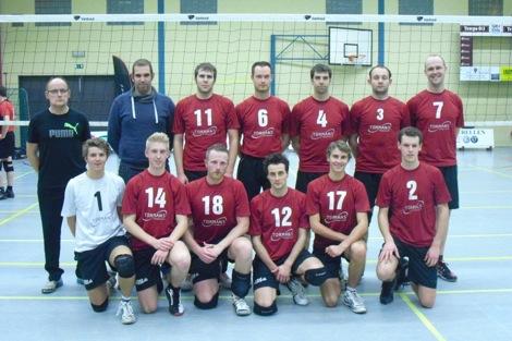 De ploeg van Camba Geel, die vorig seizoen de titel pakte in eerste provinciale.
