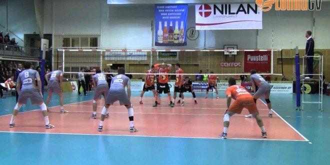 CEV Cup 5.11.2014: Loimu Raisio (FIN) vs Volley BeHappy2 Asse-Lennik (BEL)