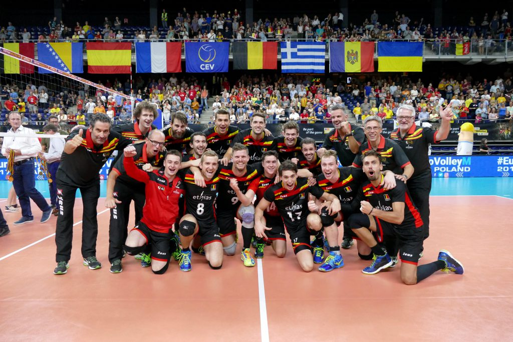 Les Red Dragons se qualifient pour l'Euro 2017 (Credit : VDB / BART VANDENBROUCKE)