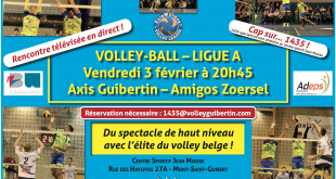 Guibertin - Zoersel en direct sur TV Com !