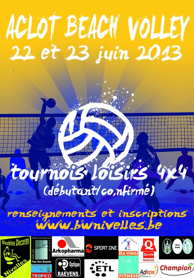 17e Aclot Beach Volley (Nivelles)