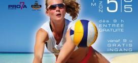 1ère manche du Belgian Beach Volley Tour 2013 à Bruxelles ! (4 & 5 mai)