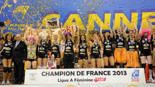 RC Cannes (FR) Championnes 2012-2013