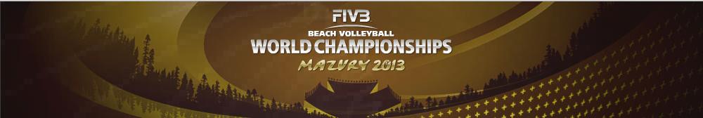 World Championship Beach Volley 2013 Mazury