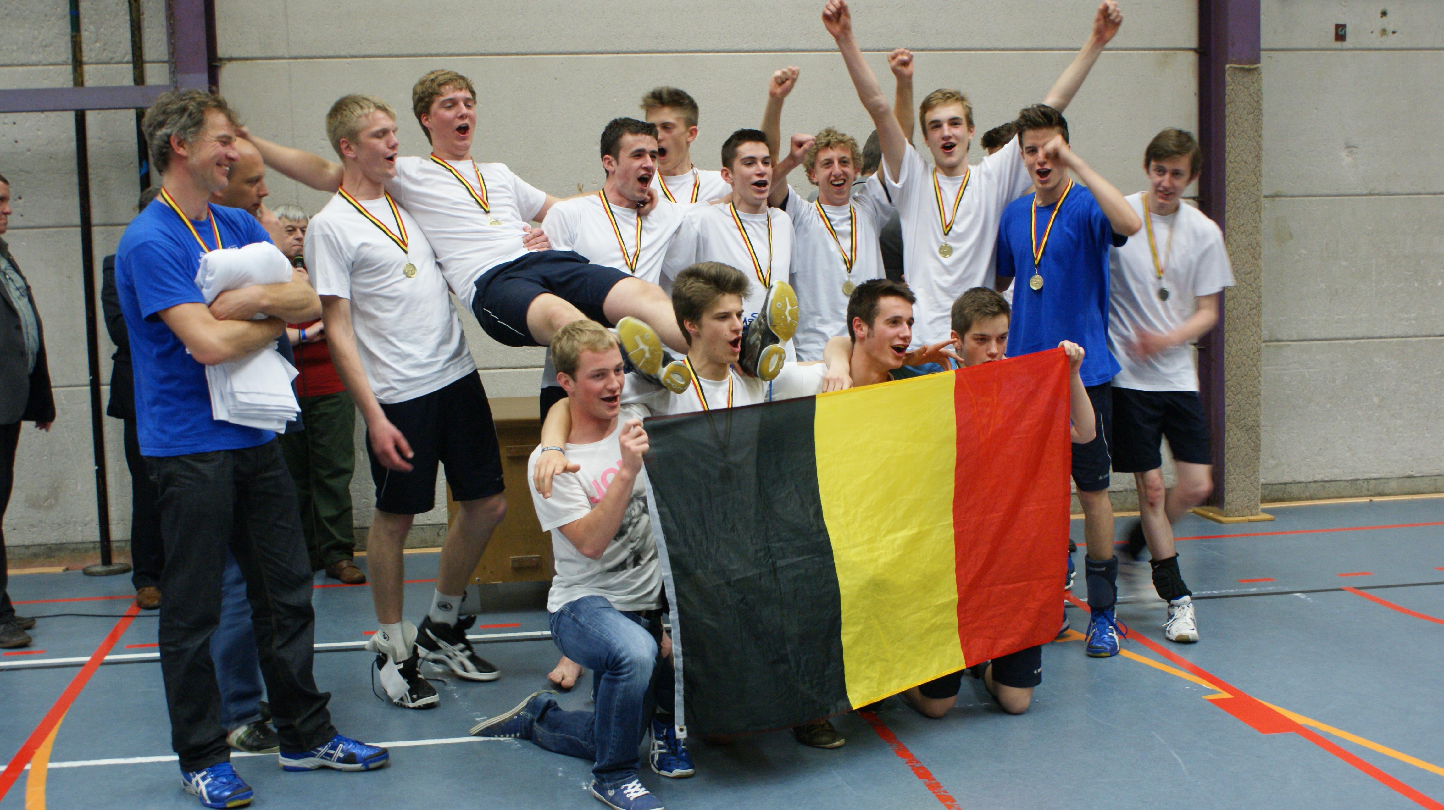 Juniors Amigos Zoersel, belgische kampioenen 2013