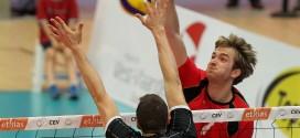 Kévin Klinkenberg avec l'équipe nationale face à l'Autriche