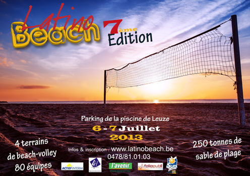 7e édition du Latino Beach à Leuze