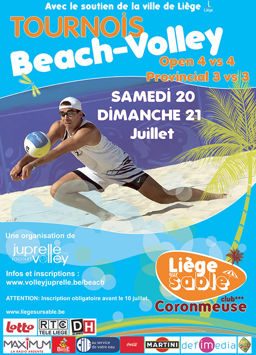 Beach-Volley Juprelle