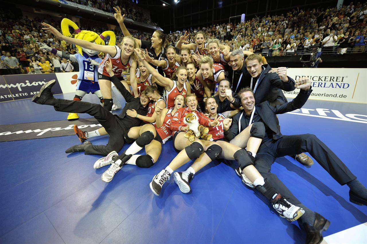 Nos Belgian Yellow Tigers remportent le bronze au Championnat d'Europe 2013