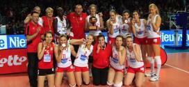 Les Dauphines de Charleroi ont remporté la Coupe de Belgique en 2012 (Copyright THIERRY PORTIER)