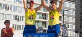 Ward Coucke et Tom Van Walle sont les Champions de Belgique de Beach-Volley 2013 et pour la 3e fois consécutive !