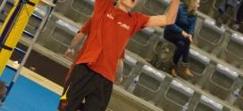 Loïc Père (16 ans) passeur gaucher d'1m86 sera la doublure de Sandy Barbieux. Il fait également partie de la sélection AIF 97-98.
