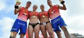 Le duo Koekelkoren-Van Walle pour les hommes et Catry-Sobolska chez les dames remportent le Championnat de Beach-Volley 2014