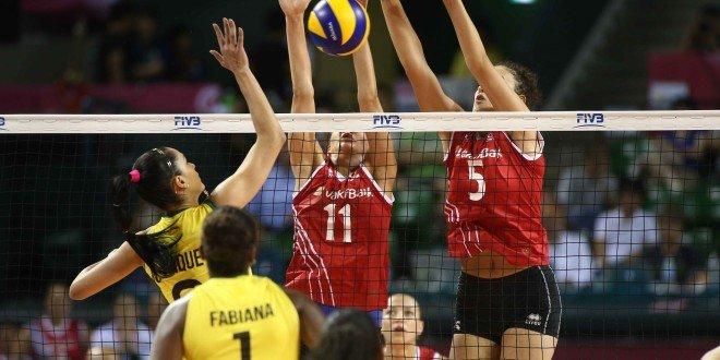 La Turquie est arrivée à bout du Brésil qui était pourtant invaincu dans la compétition !