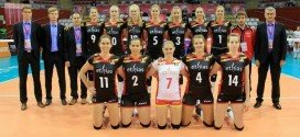Nos Belgian Yellow Tigers durant le World Grand Prix 2014