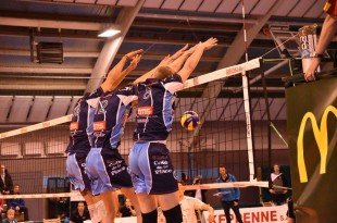 VBC Waremme 2015-2016 : Triple block